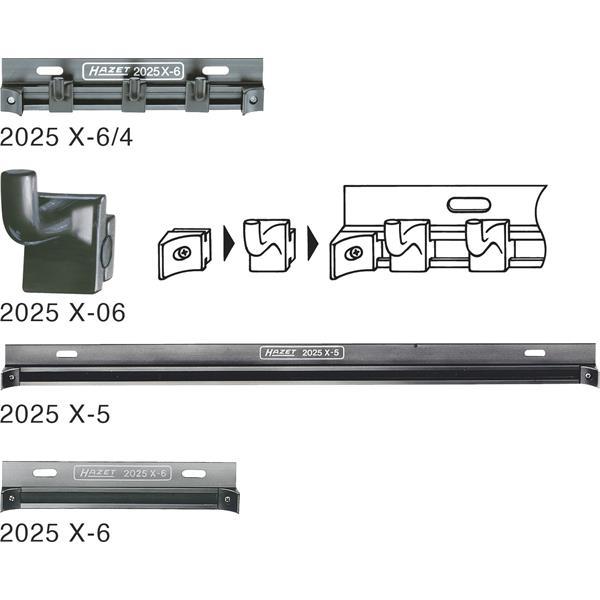 Hazet 2025X-5 FUEHRUNGSSCHIENE   Hazet Werkzeugwagen ...
