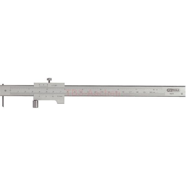 KS Tools 300.0626  Universal marking gauge with stop roller 200mm